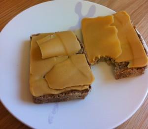 Brød med brunost